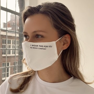 Mooi! Mask - I WEAR THIS FOR YOU -